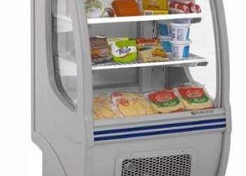 Balcão refrigerado pequeno
