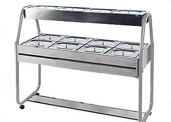 Buffet self service quente e frio